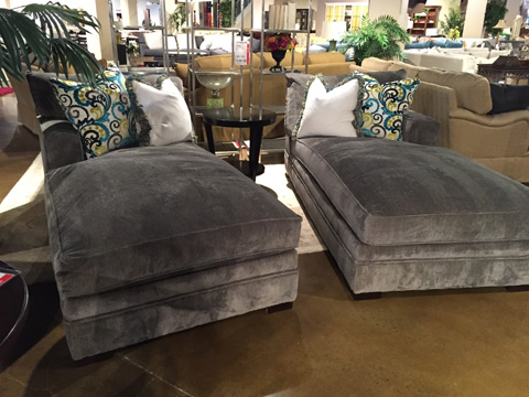 Huntington House - Set of Two Chaise Lounges - 7100-62T/63T