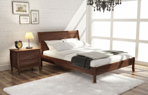 Huppe - King Panel Bed - 003352-BED