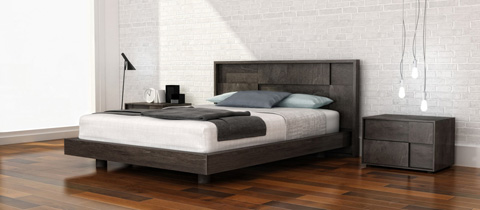 Huppe - King Panel Bed - 004153-BED