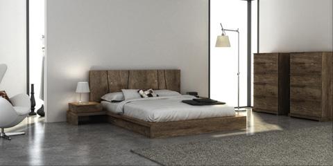 Huppe - Queen Platform Bed - 008149-BED