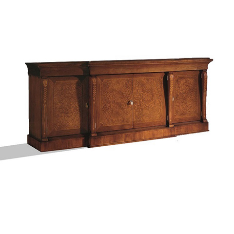 Image of Credenza with Four Drawers