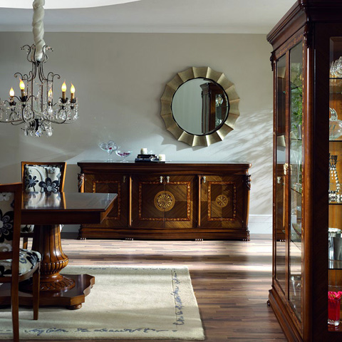 Image of Credenza with Four Doors