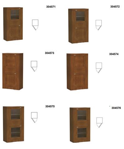 Hurtado - Bookcase - 304571