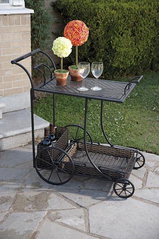 IMAX Worldwide Home - CKI Mandalay Wine Cart - 10843