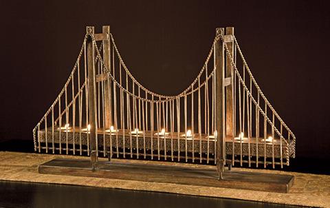IMAX Worldwide Home - Suspension Bridge Candleholder - 12366