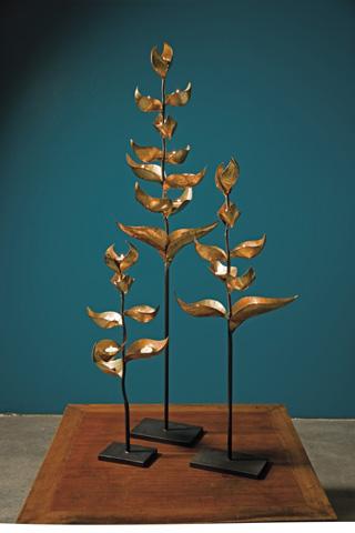 IMAX Worldwide Home - Eloise T-Lightcandle Tree - Set of 3 - 1771-3