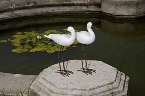 IMAX Worldwide Home - Shire Ceramic Seabirds - Set of 2 - 27300-2