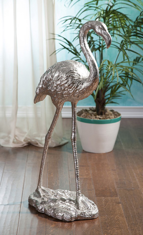 IMAX Worldwide Home - Estevan Flamingo Statuary - 36202