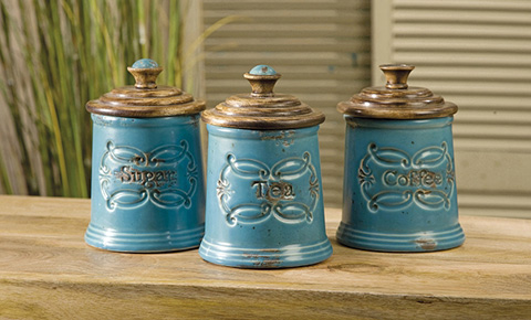IMAX Worldwide Home - Provincial Canisters - Set of 3 - 5506-3