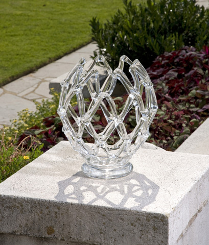 IMAX Worldwide Home - Glass Web Sculpture - 73001