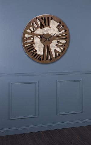 IMAX Worldwide Home - Beth Kushnick Antique Mirror Wall Clock - 76256