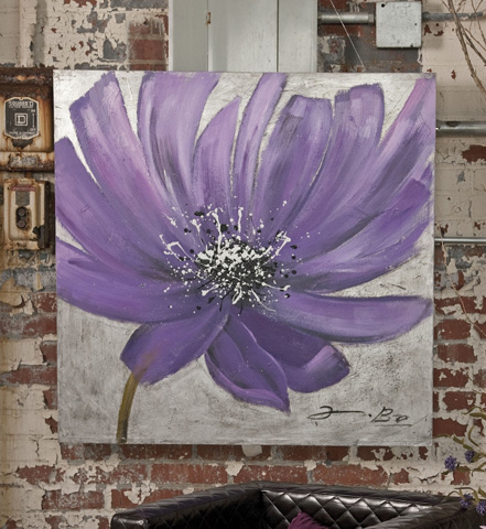IMAX Worldwide Home - Frisian Floral Oil Painting - 82049