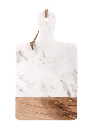 IMAX Worldwide Home - Addy Marble and Wood Cheese Board - 82511