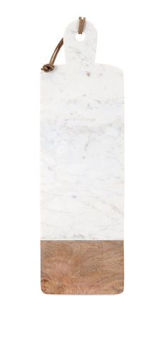 IMAX Worldwide Home - Danita Marble and Wood Cheese Board - 82521