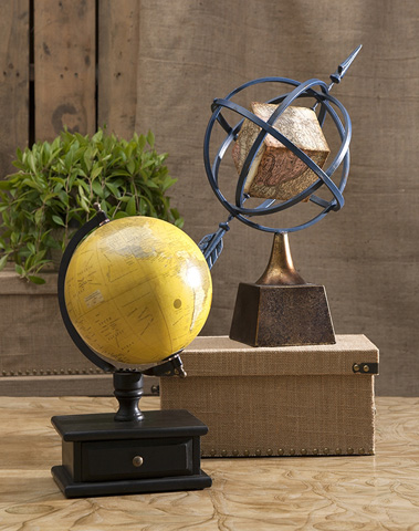 IMAX Worldwide Home - Creston Globe Armillary - 83410