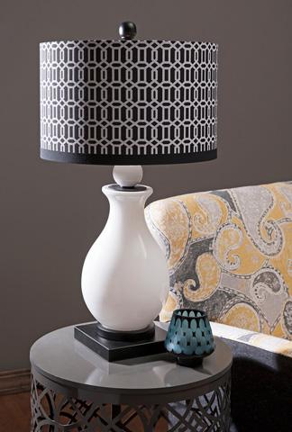 IMAX Worldwide Home - Agrinio Ceramic Table Lamp - 86608
