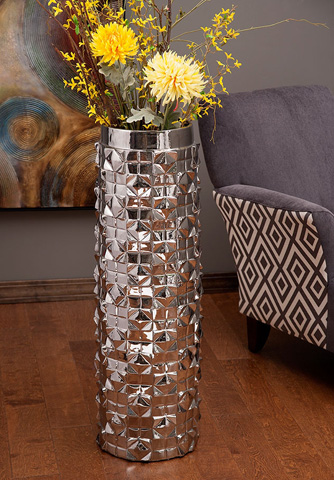 IMAX Worldwide Home - Schmidt Oversized Metallic Vase - 25246