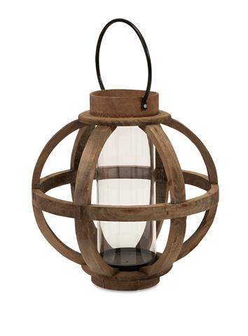 IMAX Worldwide Home - Garrett Wood Lantern - 56393