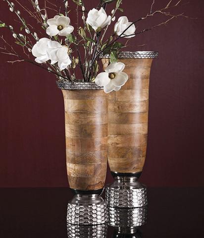 IMAX Worldwide Home - Mango Wood Large Vase - 71784