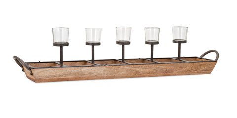 IMAX Worldwide Home - Shay 5-Light Candleholder - 71813