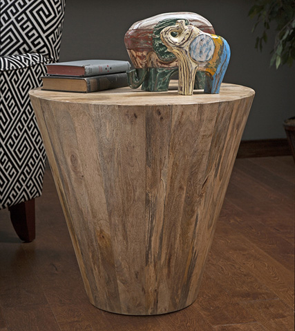 IMAX Worldwide Home - Fabiola Wood Accent Table - 89204