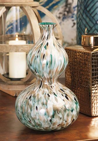 IMAX Worldwide Home - Glacier Glass Vase - 89353