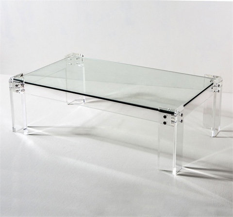 Interlude Home - Gwenyth Rectangular Cocktail Table - 118042