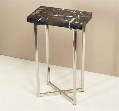 Interlude Home - Argo Rectangular Drink Table - 155041