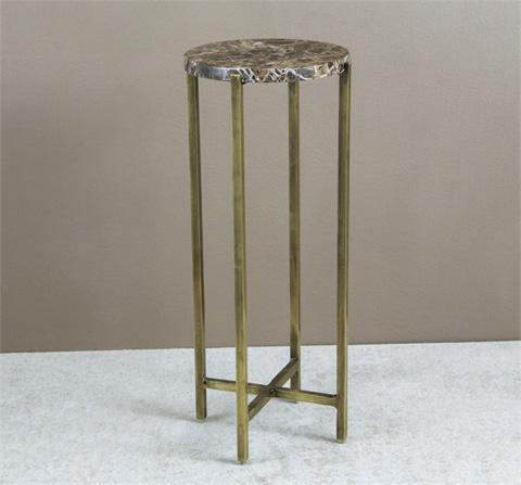 Interlude Home - Lara Circular Drink Table - 155088
