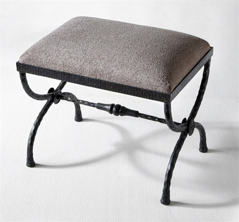 Interlude Home - Remy Forged Stool - 178012