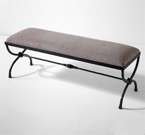 Interlude Home - Remy Forged Bench - 178013