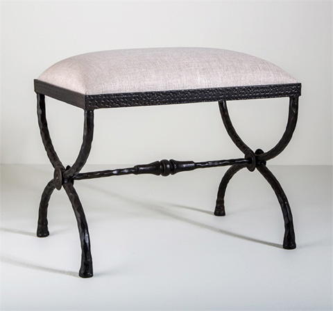 Interlude Home - Remy Forged Stool - 178021