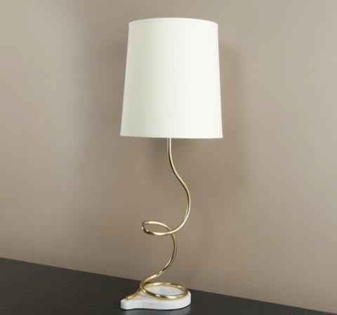 Interlude Home - Emporio Brass Lamp - 548094