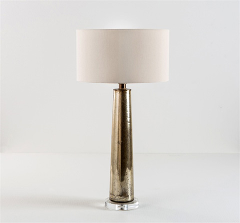 Interlude Home - Rain Glass Lamp - 555049