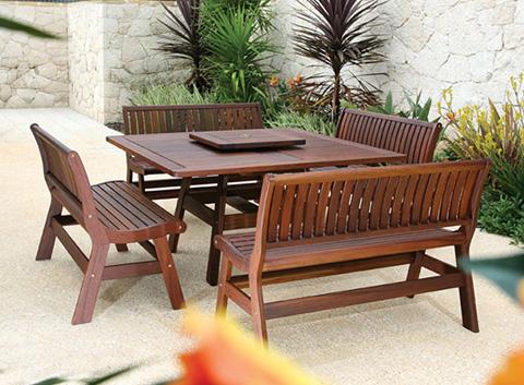 Jensen Leisure Furniture - Amber Backless Bench - 6178