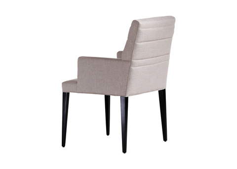 Jessica Charles - Sabrina Quilted Arm Dining Chair - 1114