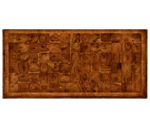 Jonathan Charles - Oyster Veneer Chest of Drawers - 492132