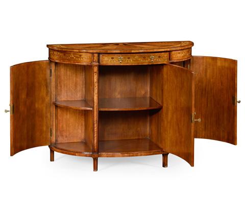 Jonathan Charles - Demilune Cabinet - 492253