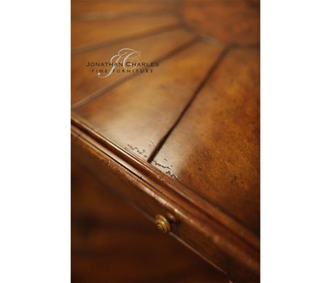 Jonathan Charles - Rustic Walnut Console - 492617