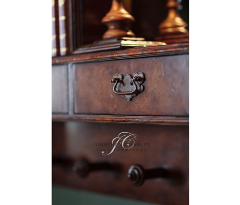 Jonathan Charles - Regency Style Hall Mirror - 493150