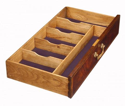 Jonathan Charles - Mahogany Sideboard with Shallow Curved Doors - 493184