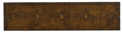 Jonathan Charles - Elizabethan Style Dark Oak Console - 493367