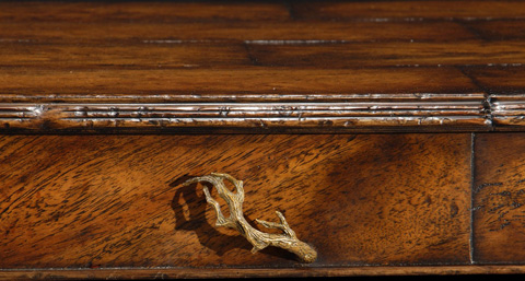 Jonathan Charles - Rustic Walnut Coffee Table - 493479