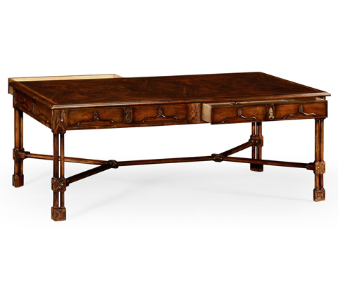Jonathan Charles - Chippendale Gothic Coffee Table - 493482