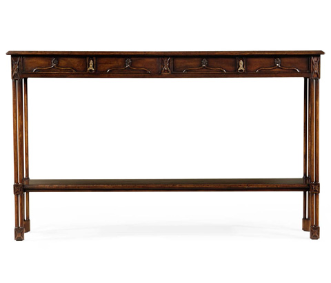 Jonathan Charles - Chippendale Gothic Console - 493493