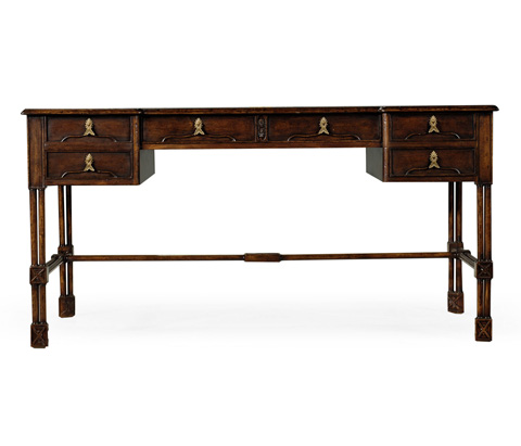 Jonathan Charles - Chippendale Gothic Desk - 493495
