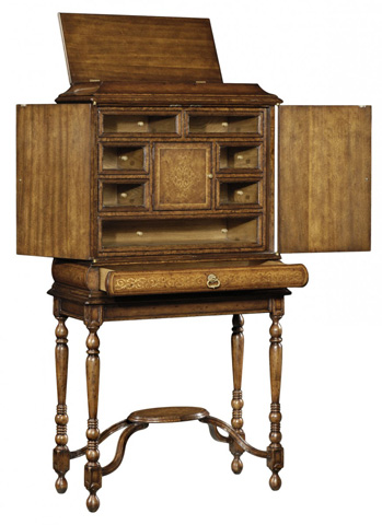 Jonathan Charles - Seaweed Humidor/Collectors Cabinet - 493584