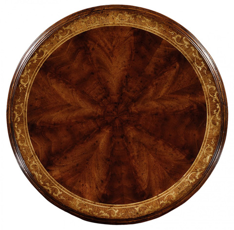 Jonathan Charles - William IV Round Mahogany Lamp Table - 493770