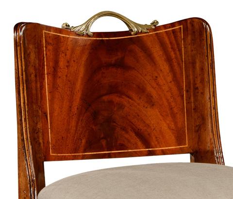 Jonathan Charles - Low Back Regency Chair - 493908