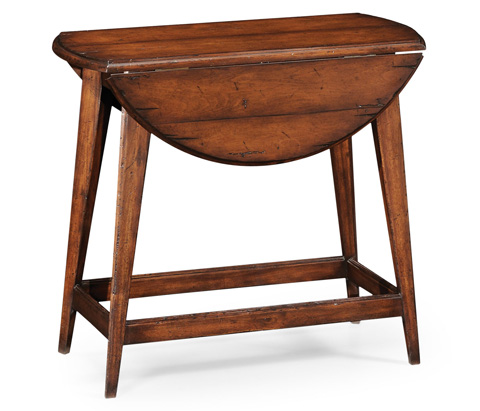 Jonathan Charles - Folding Walnut Plank Table - 493933
